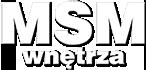 MSM Wnętrza Logo